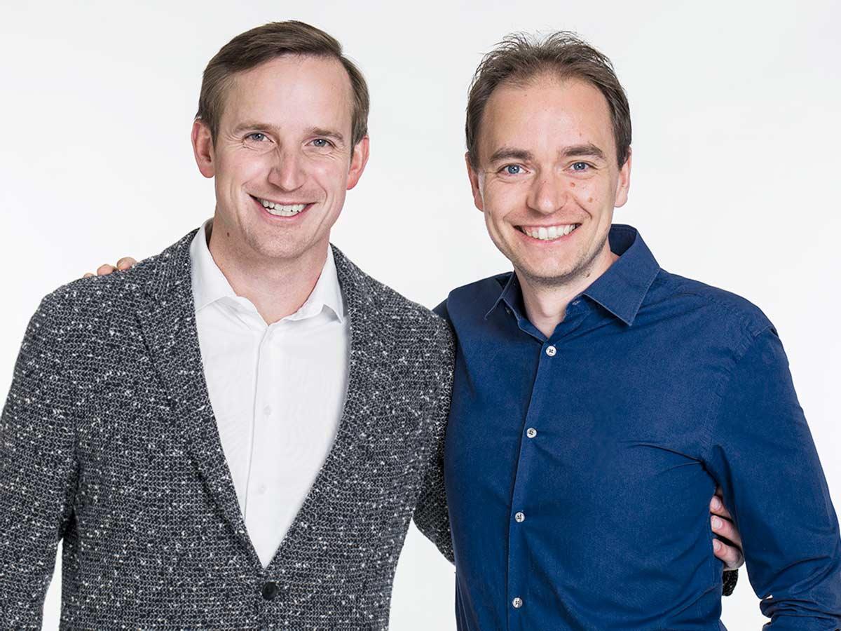 Thomas Klußmann und Christoph J.F. Schreiber